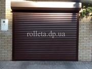 Защитные роллеты Днепр rolleta.dp.ua тканевые роллеты роллетные ворота
