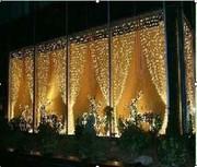 Праздничное оформление фасадов светодиодами