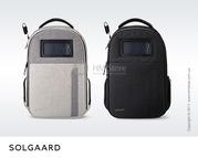 Рюкзак с защитой от краж Solgaard Lifepack солнечная батарея купить Ки