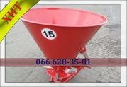 РУМ 500 разбрасыватель для минеральных удобрений компактный